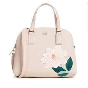 Kate Spade lottie magnolia satchel